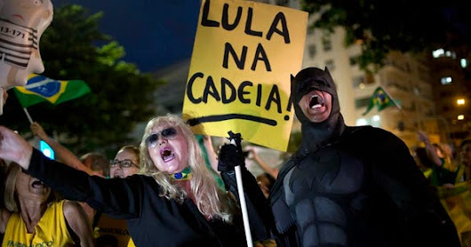 With Lula Gone, Brazil Leadership Totally Up For Grabs