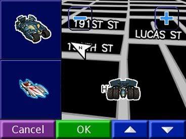 vehicle menu