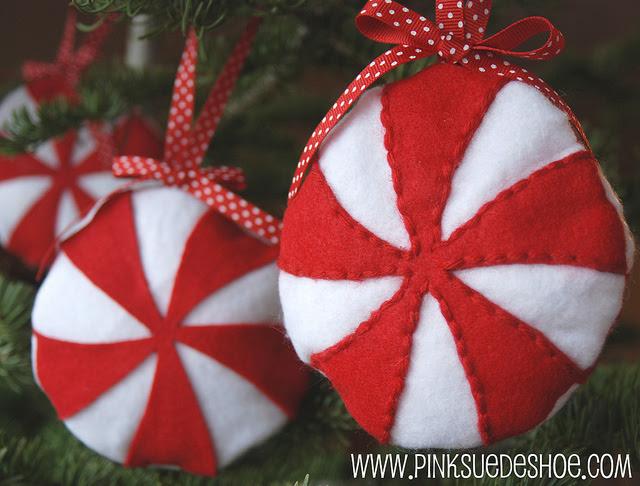 Diy Felt Christmas Tree Ornaments | Shelterness