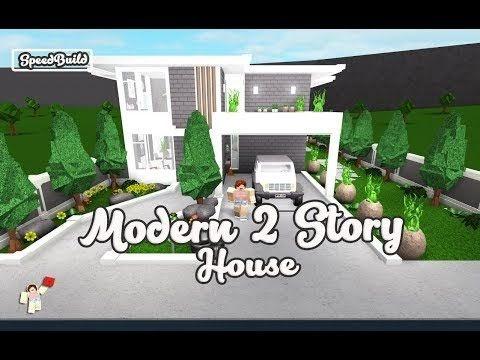 Bloxburg Modern Family House 40k