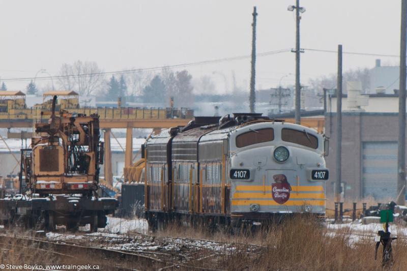 CP 4107 in Calgary
