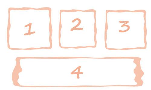 four comic strip template