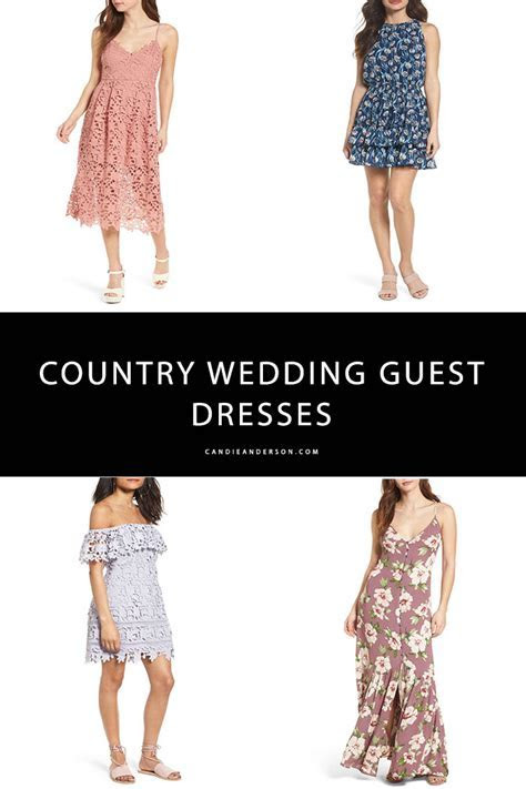 20 Best Country Wedding Guest Dresses   Candie Anderson