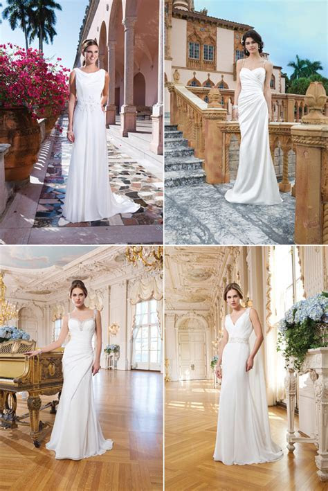 Greek Goddess Style Wedding Dresses   Confetti.co.uk