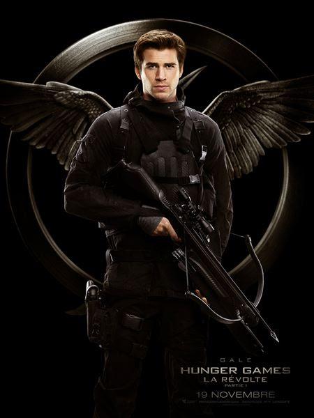 Gale Hawthorne, l'ami d'enfance de Katniss, également fou amoureux de notre héroïne