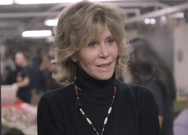 Jane Fonda has always been there for us.