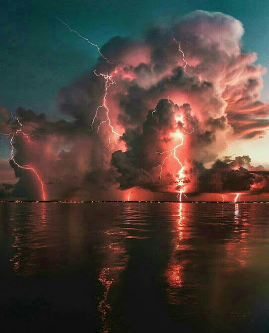 Storm In Fort Myers, Florida
