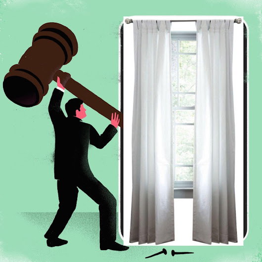 When Curtains Block Justice