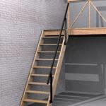 Casas de madera prefabricadas escaleras para altillos for Escaleras plegables de aluminio para altillos