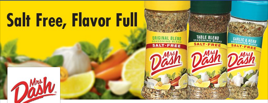 mrs.dash  4 Free Samples of Mrs. Dash