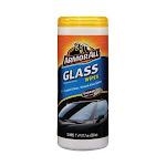 Armor All Auto Glass Wipes Crystal Clear, Streak Free Shine - 25 Ea