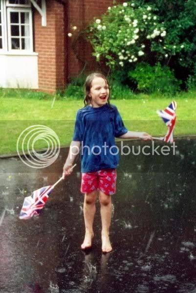 Enjoying the hail - Golden Jubilee 2002