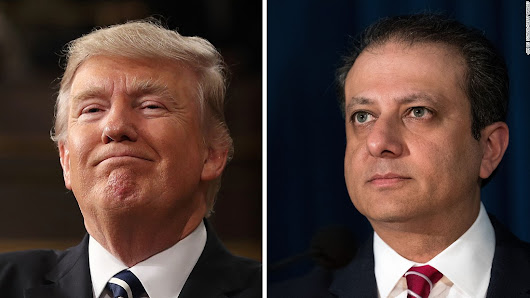 'Showman' prosecutor Bharara fights to the end