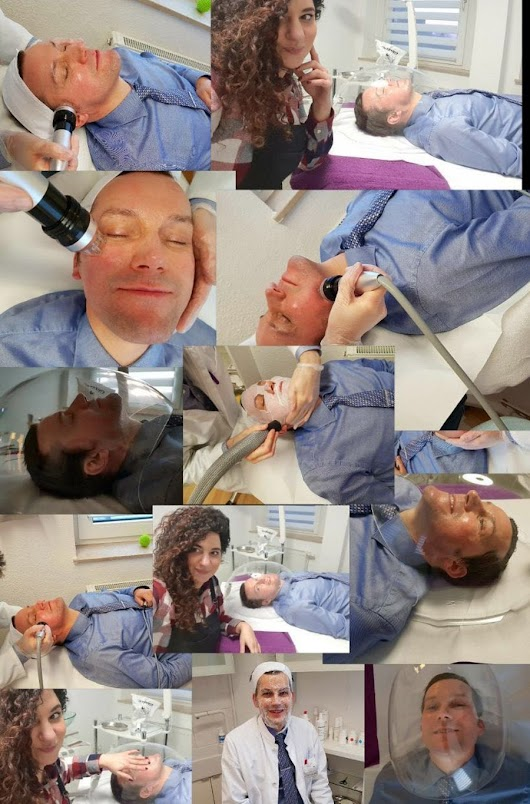 Microneedling-RF Collage