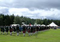 Pipe Band Competition
