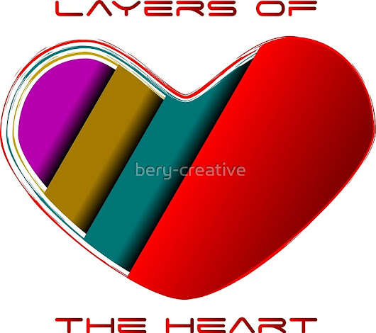 'Layers of the Heart'  by bery-creative