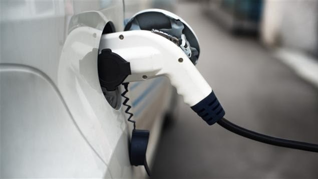 Borne de recharge pour voiture électrique