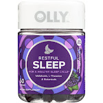Olly Restful Sleep, Gummies, Blackberry Zen - 50 gummies