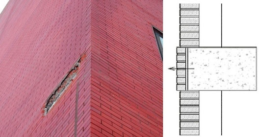 What are the Causes of Brick Facade Deterioration in Buildings?