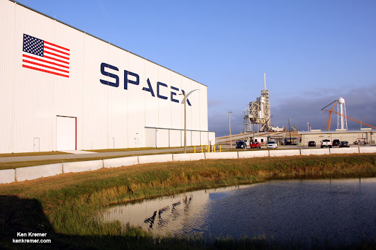 SpaceX Awaits FAA Falcon 9 Launch License for 1st Pad 39A Blastoff on NASA ISS Cargo Flight - Universe Today