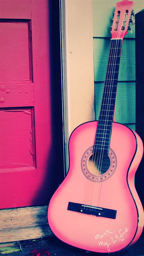 guitar iphone wallpaper atmobile colourful lomo