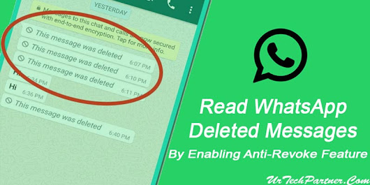 How to Enable Anti-Revoke Feature to Read WhatsApp Deleted Messages