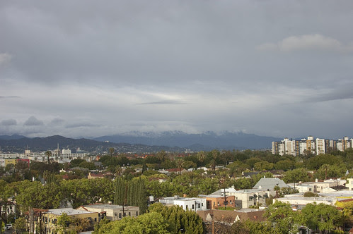 los angeles after the rain