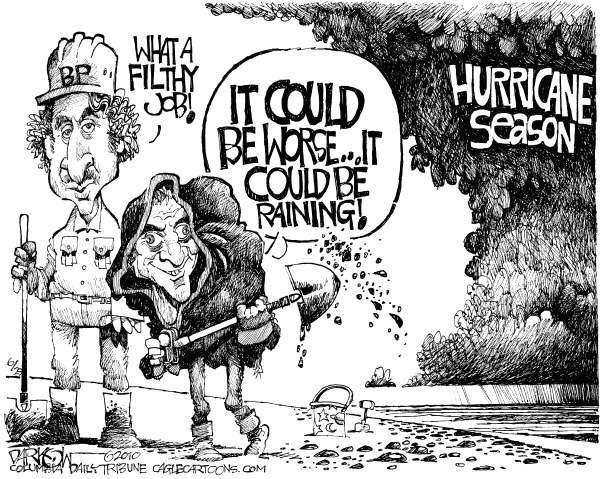 Cartoon by John  Darkow