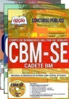 Apostila Concurso CBM SE 2018 | CADETE BM