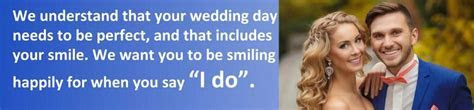 Teeth whitening for your wedding
