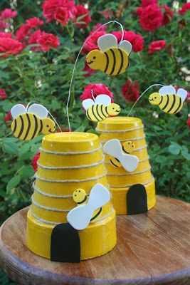 Arı Ve Arı Kovanı Sanat Etkinliği 21 Okul öncesi Etkinlik