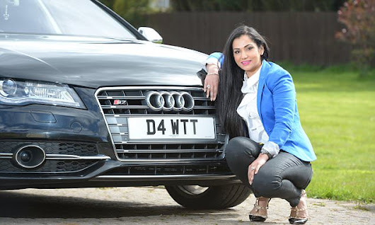 The Treasury rakes in £2BN from the sale of number plates