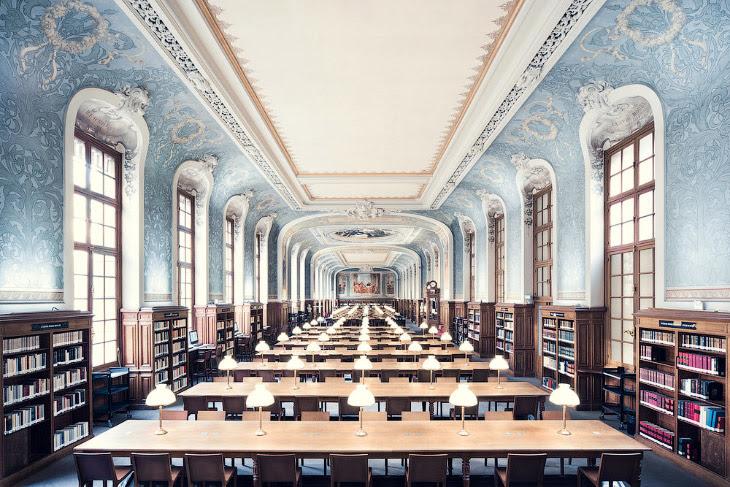 Bibliothèque de la Sorbonne. Библиотека Сорбонны.