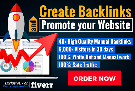 seowizrd : I will create backlinks and promote your website for $10 on www.fiverr.com