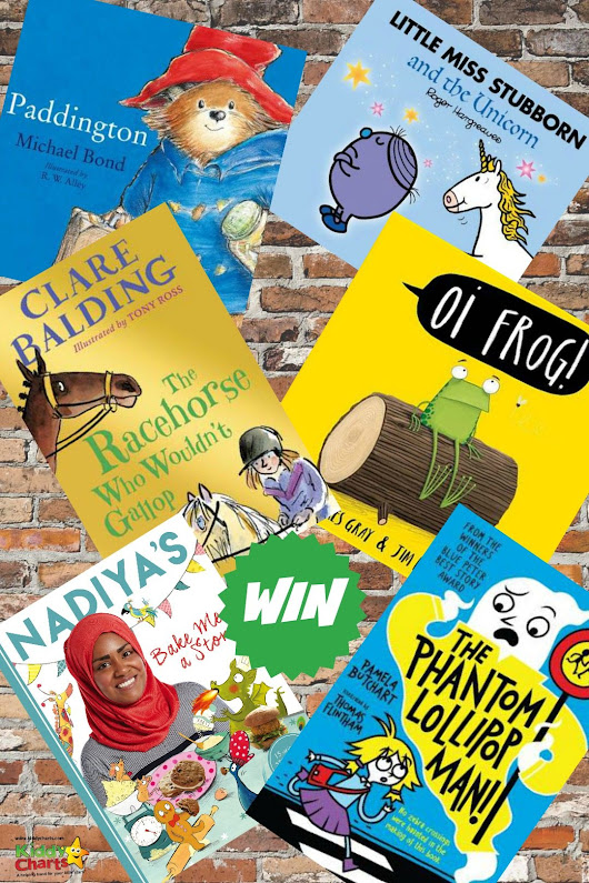 Win a bundle of books from Scholastic to celebrate World Book Day (RRP c. £45)