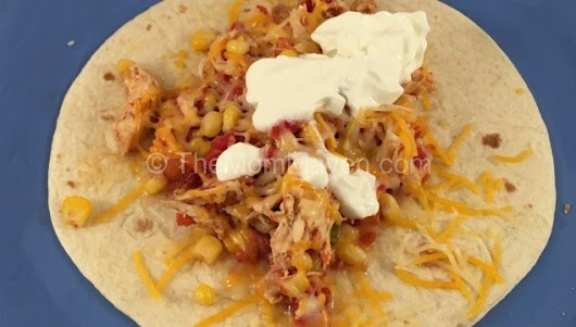 Crockpot Chicken Tacos and Nachos - The Mom Maven