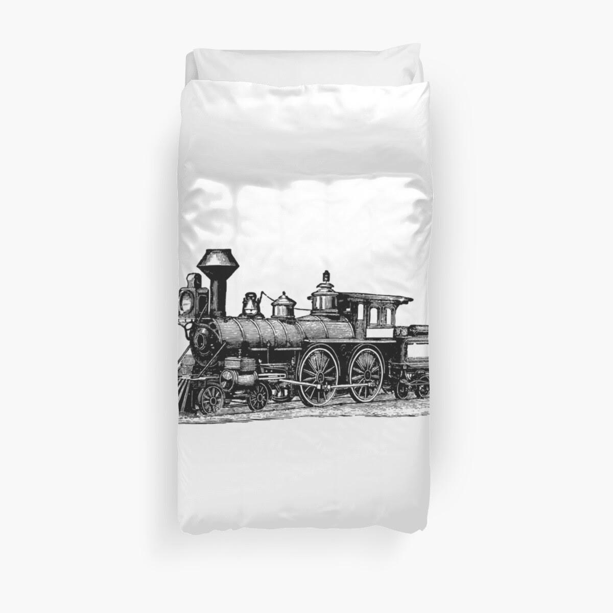 Vintage Locomotive 0713