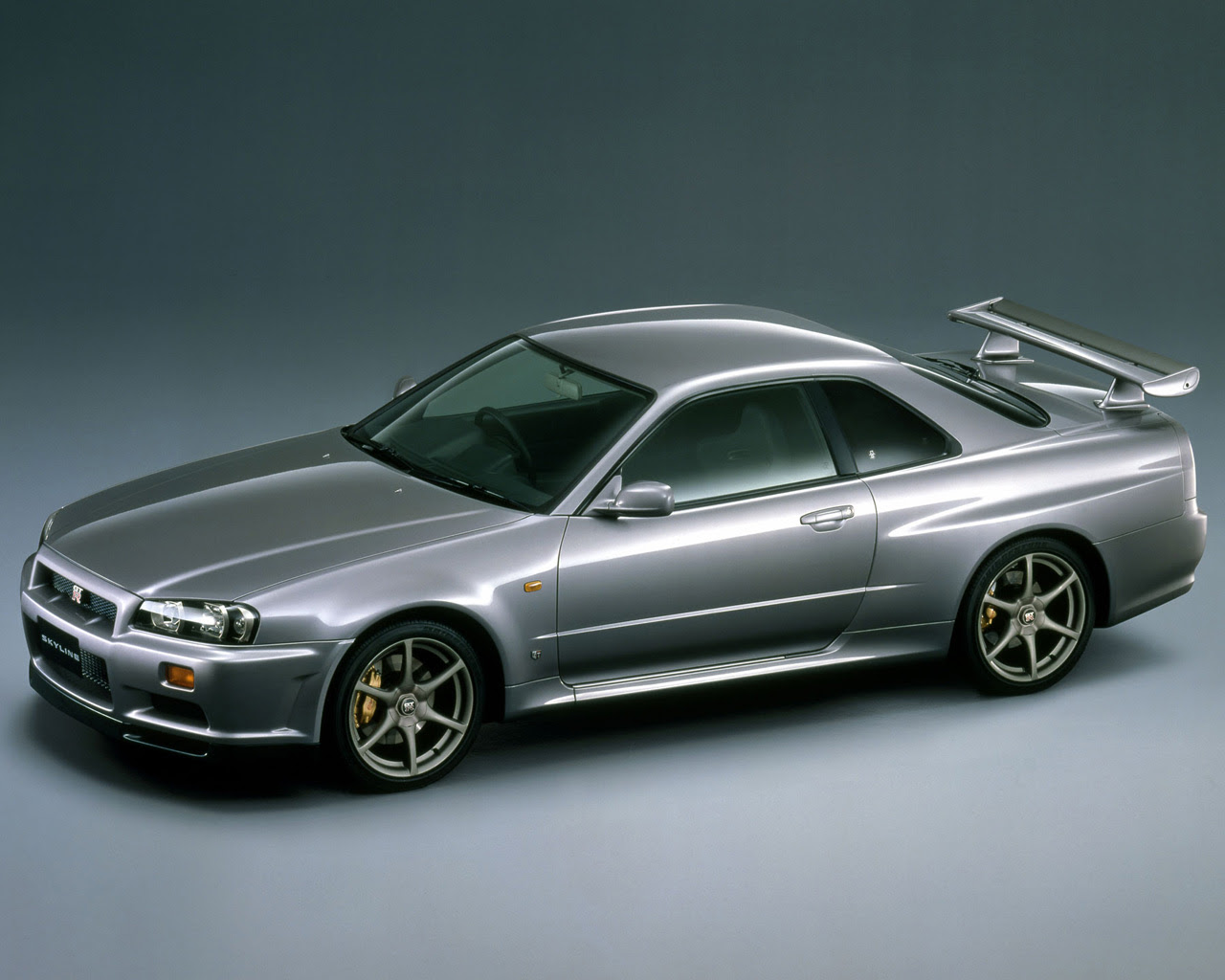 R34 Nissan Skyline Gtr Free 1280x1024 Wallpaper Desktop