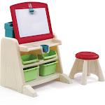 Step2 - Flip & Doodle Easel Desk with Stool