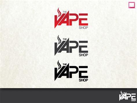 elegant modern logo design design   vape shop