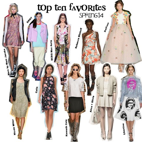 Spring 2014: top 10 favorite collections (NYFW) Part I