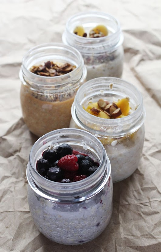 4 Ideas for Overnight Oatmeal - A Beautiful Mess