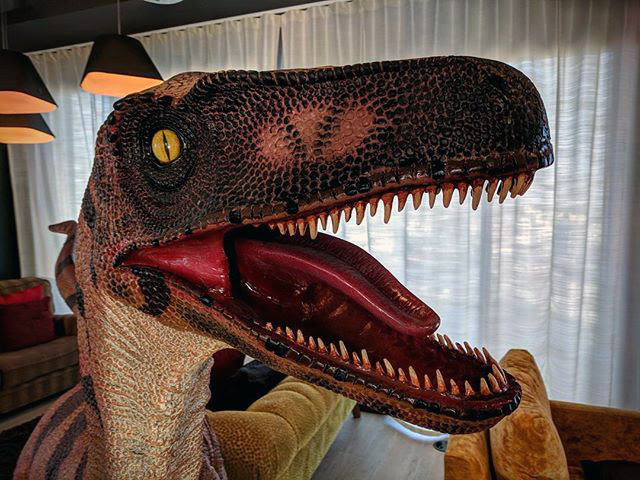 Google Indoor Velociraptor