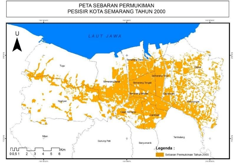 Peta Kota Semarang Dan Legenda - Kumpulan Peta dan Denah