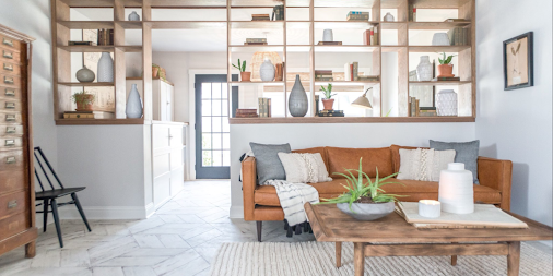 Pony Walls Are About to Make a Major a Comeback—and You Can Thank Joanna Gaines http://ctrylv.co/nIeRUDl...