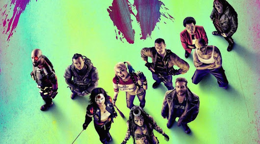 New SUICIDE SQUAD poster assembles the team