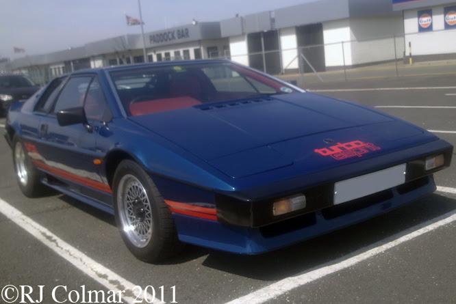Lotus Turbo Esprit, Silverstone Classic