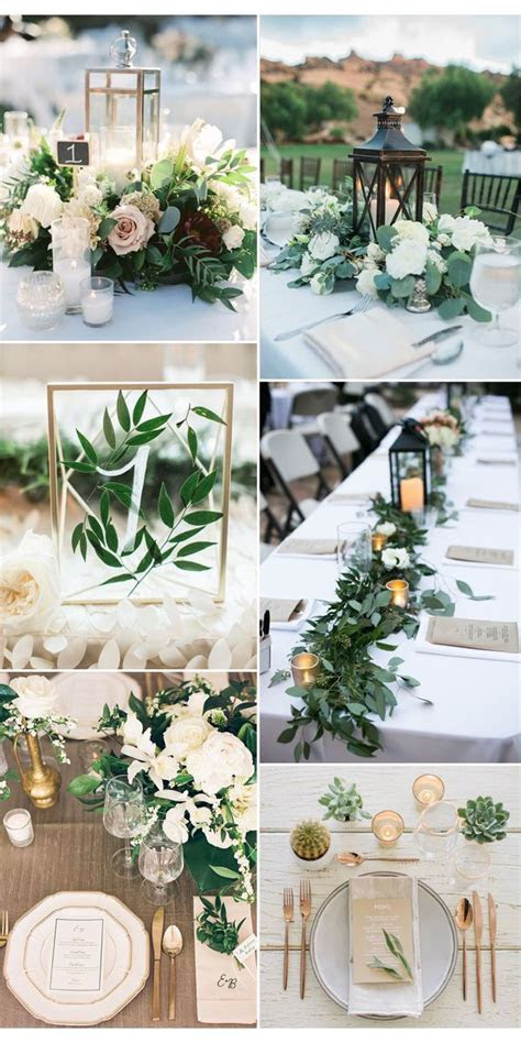 25  best ideas about Greenery centerpiece on Pinterest