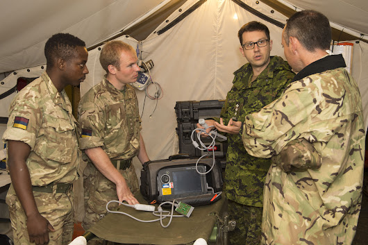 National Defence | Canadian Armed Forces | Article | Medical team works hard for Operation REASSURANCE
