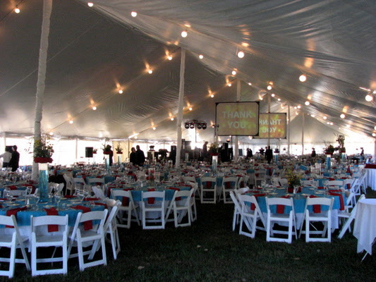 We frequently host tented weddings and receptions For more information call